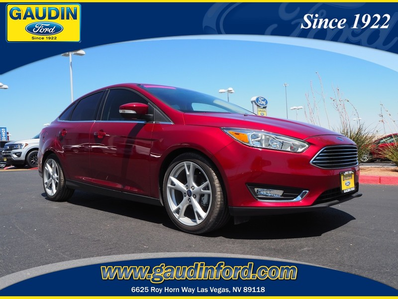 New 2016 Ford Focus Titanium 4D Sedan in Las Vegas 6C1495
