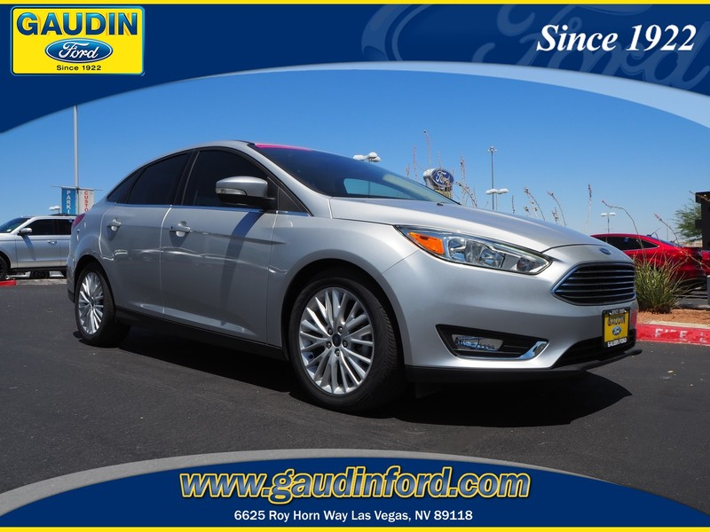 New 2016 Ford Focus Titanium 4D Sedan in Las Vegas 6C1164