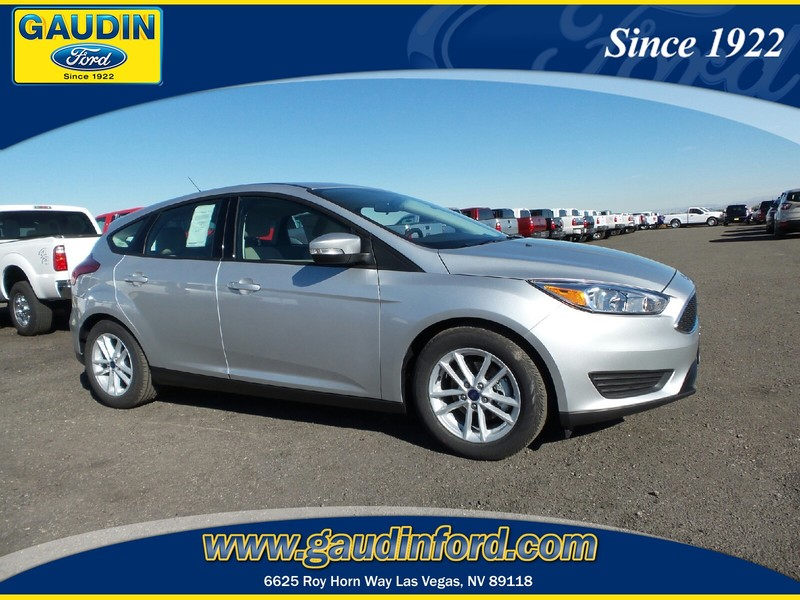 new 2016 ford focus se 4d hatchback in las vegas 6c1474 gaudin ford. Black Bedroom Furniture Sets. Home Design Ideas