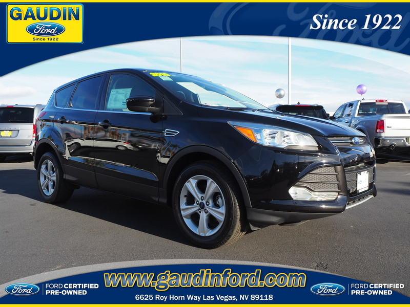 certified pre owned 2016 ford escape se 4d sport utility in las vegas 9t0191a gaudin ford. Black Bedroom Furniture Sets. Home Design Ideas